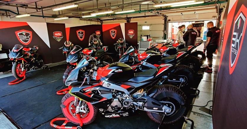 Il Trofeo Aprilia RS660 archivia le giornate di test prima dell'inizio di stagione!