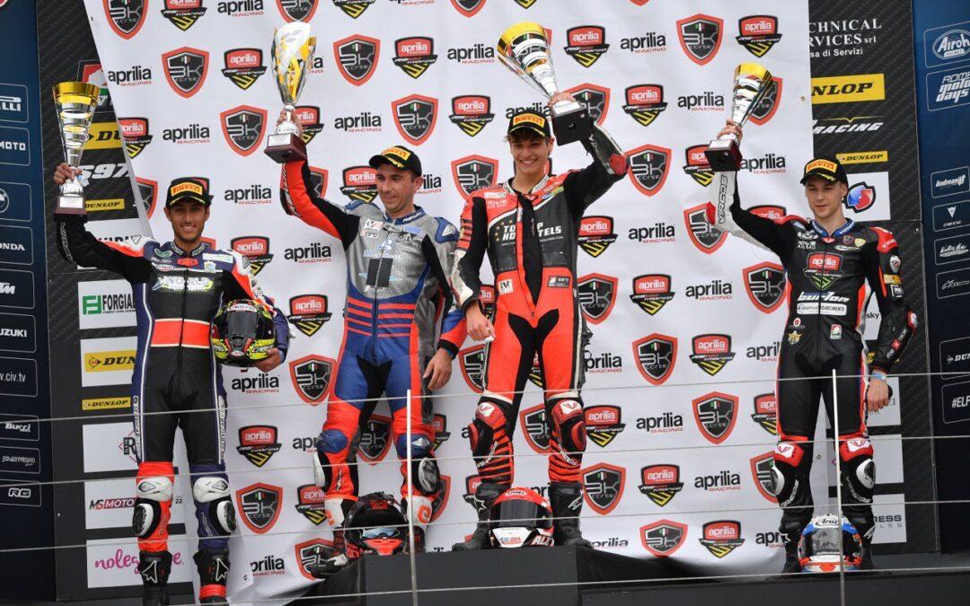 Trofeo Aprilia RS660, Misano – Arcangeli trionfa nella prima gara!